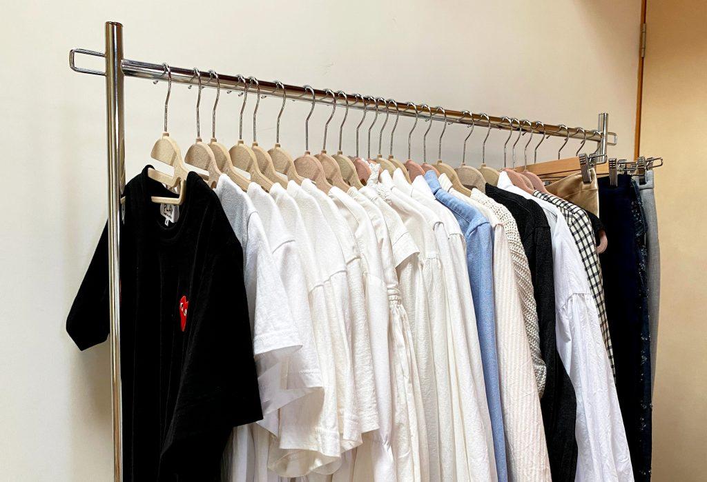 衣替えを効率よくする方法 おすすめハンガーラック